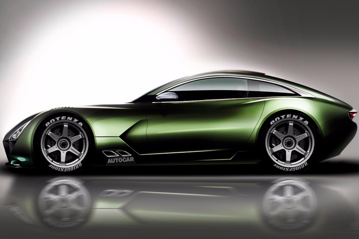 TVR set to re-launch with 200 mph Cosworth V8 supercar