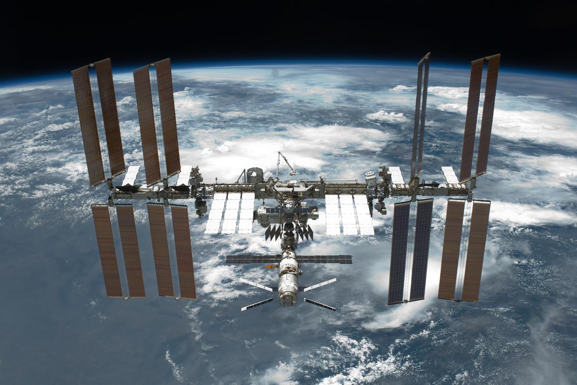 The spacewalks have delayed the flight of the Cygnus cargo ship (Image: NASA)