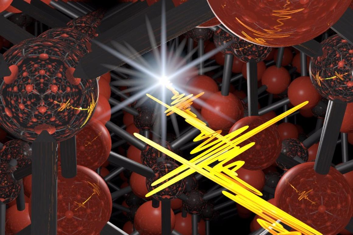 A semiconductor crystal has shown an unprecedented capacity to shape ultrashort laser pulses