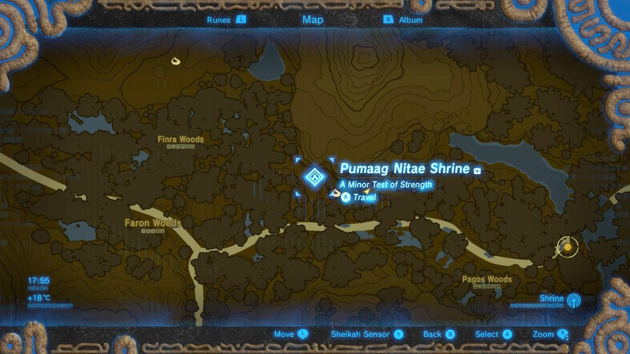 Find Kass at theyellow marker east of Pumaag Nitae Shrine