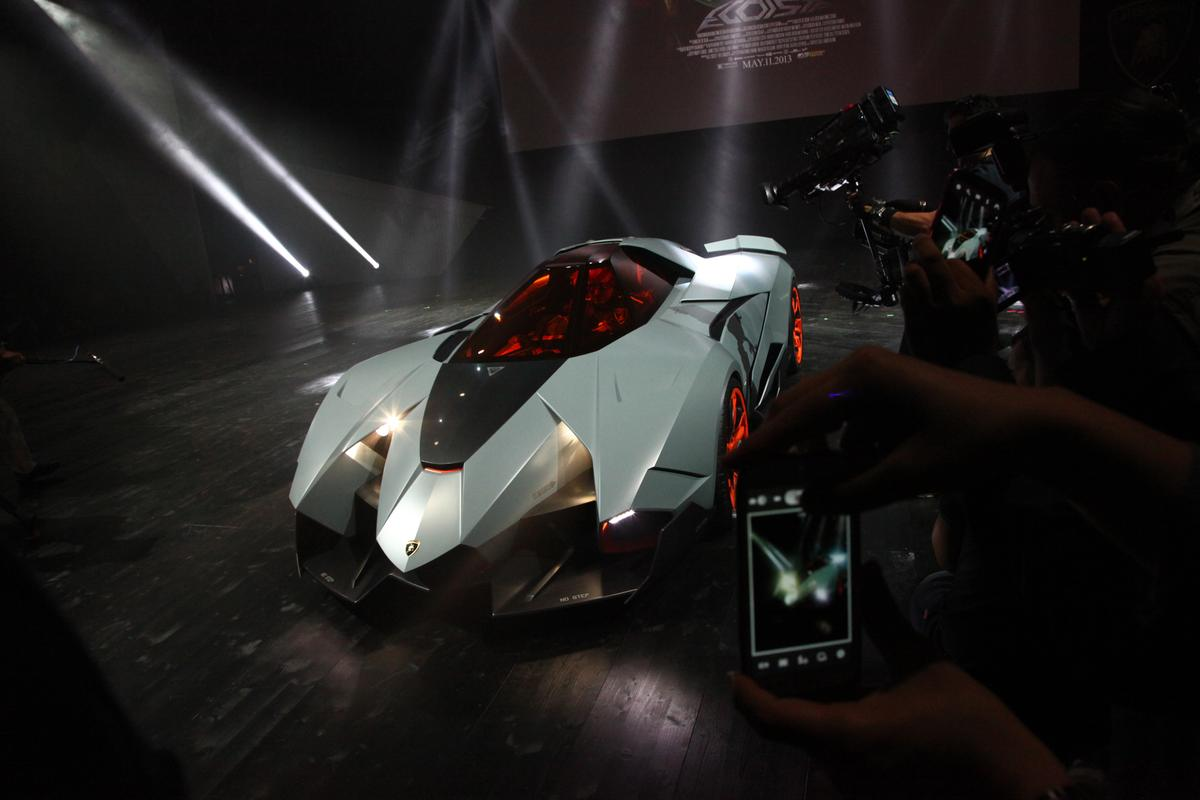 The Egoista debuts to celebrate Lamborghini's 50th anniversary