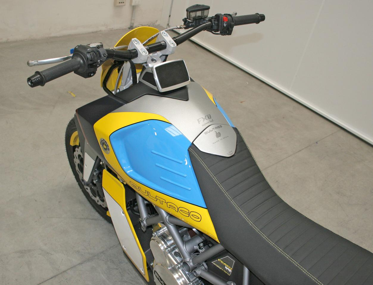 The all-electric Bultaco Rapitan Sport