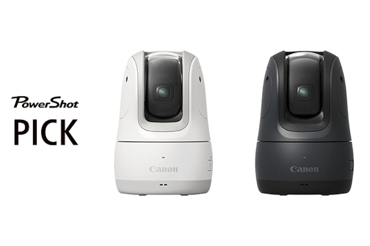 The PowerShot Pick uses a mix of Canon's imaging know-how and artificial intelligence to automatically take snaps and record video