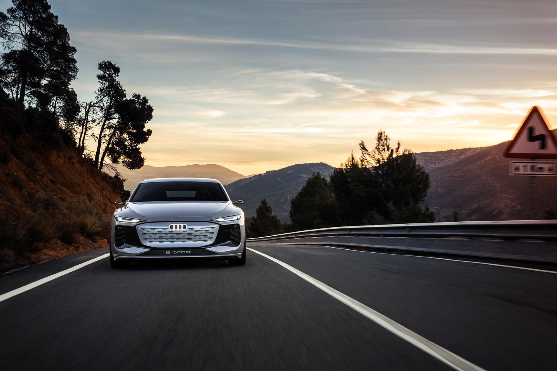 Audi previews the A6 e-tron
