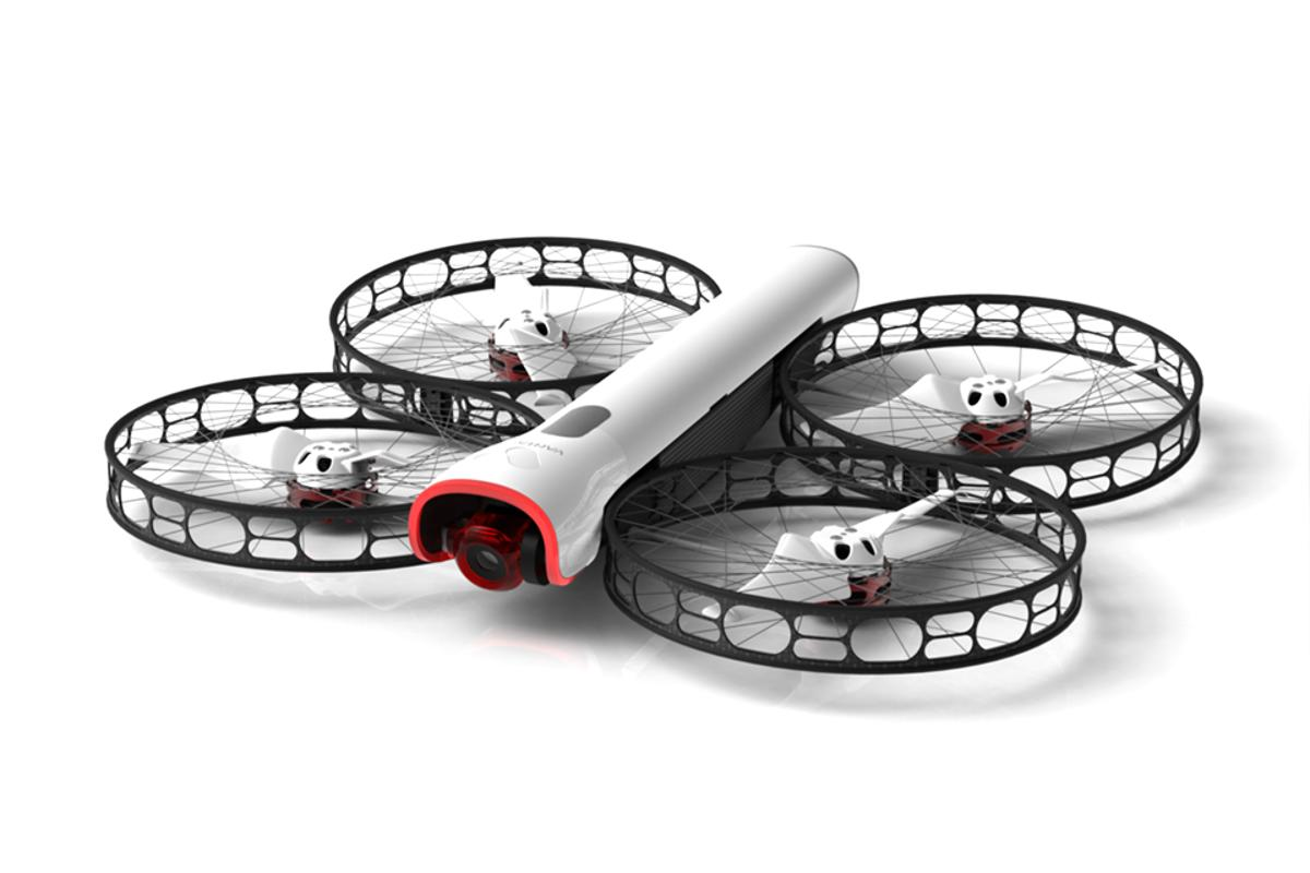 The Snap drone is designed to fly – and to fly apart