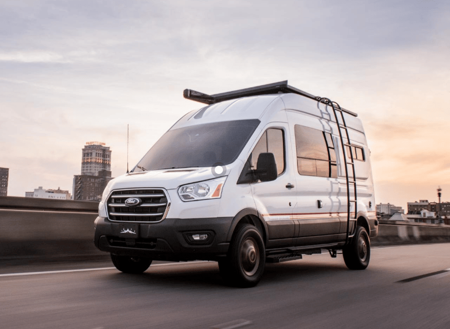 It took a couple extra years, but Storyteller Overland is launching its Ford Transit adventure camper