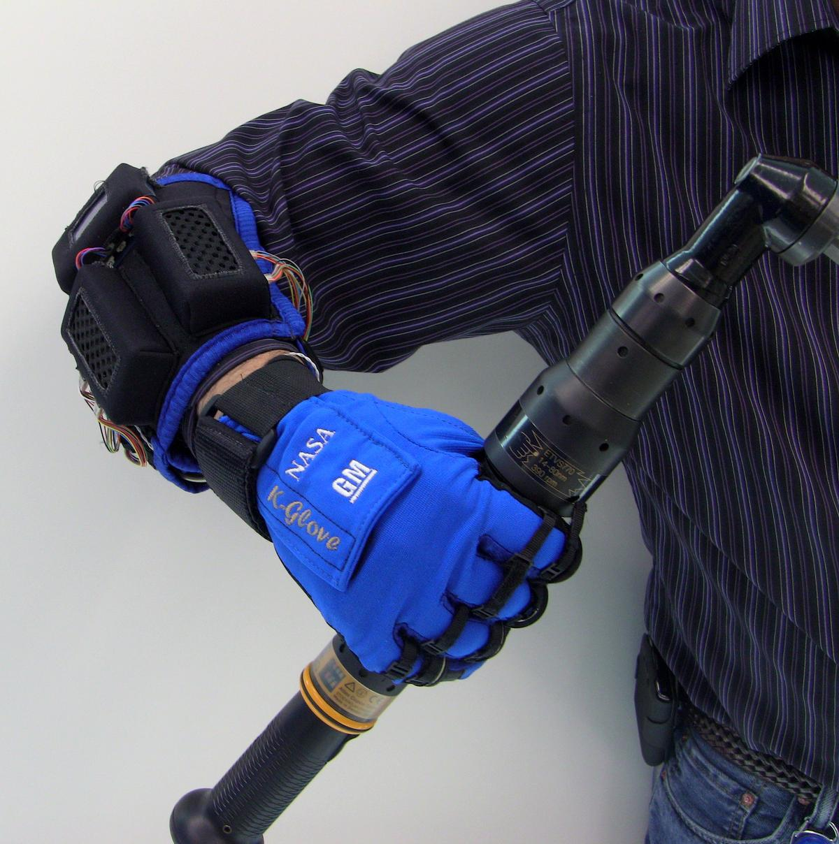 NASA and GM engineers have created Robo-Glove, a power-assisted glove designed to keep astronauts and autoworkers from getting repetitive stress injuries