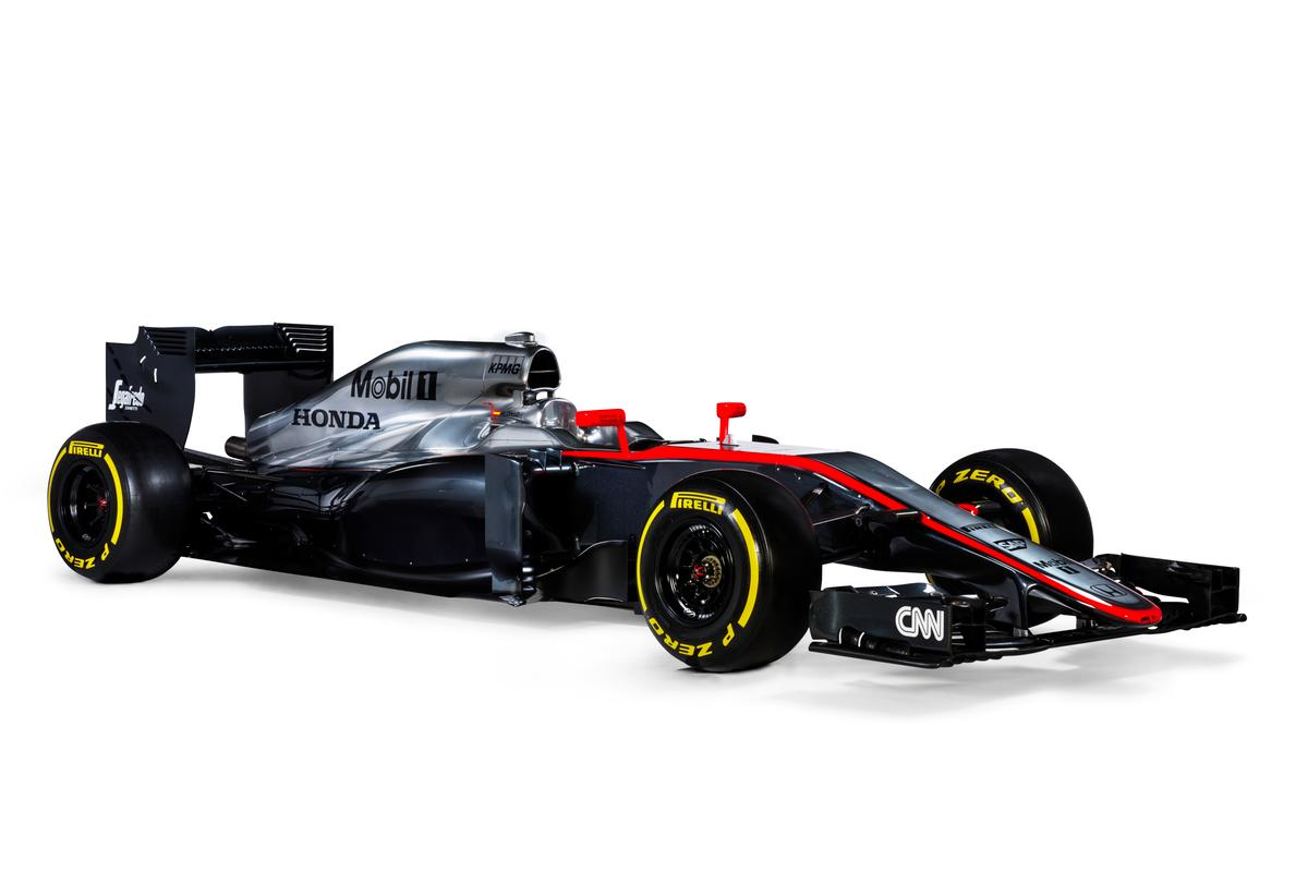 The MP4-30 will debut at the Australian GP in March