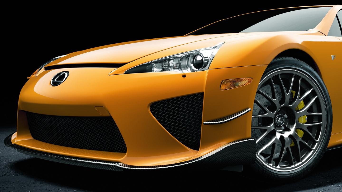 Only 50 Lexus LFA Nurburgrings will be produced