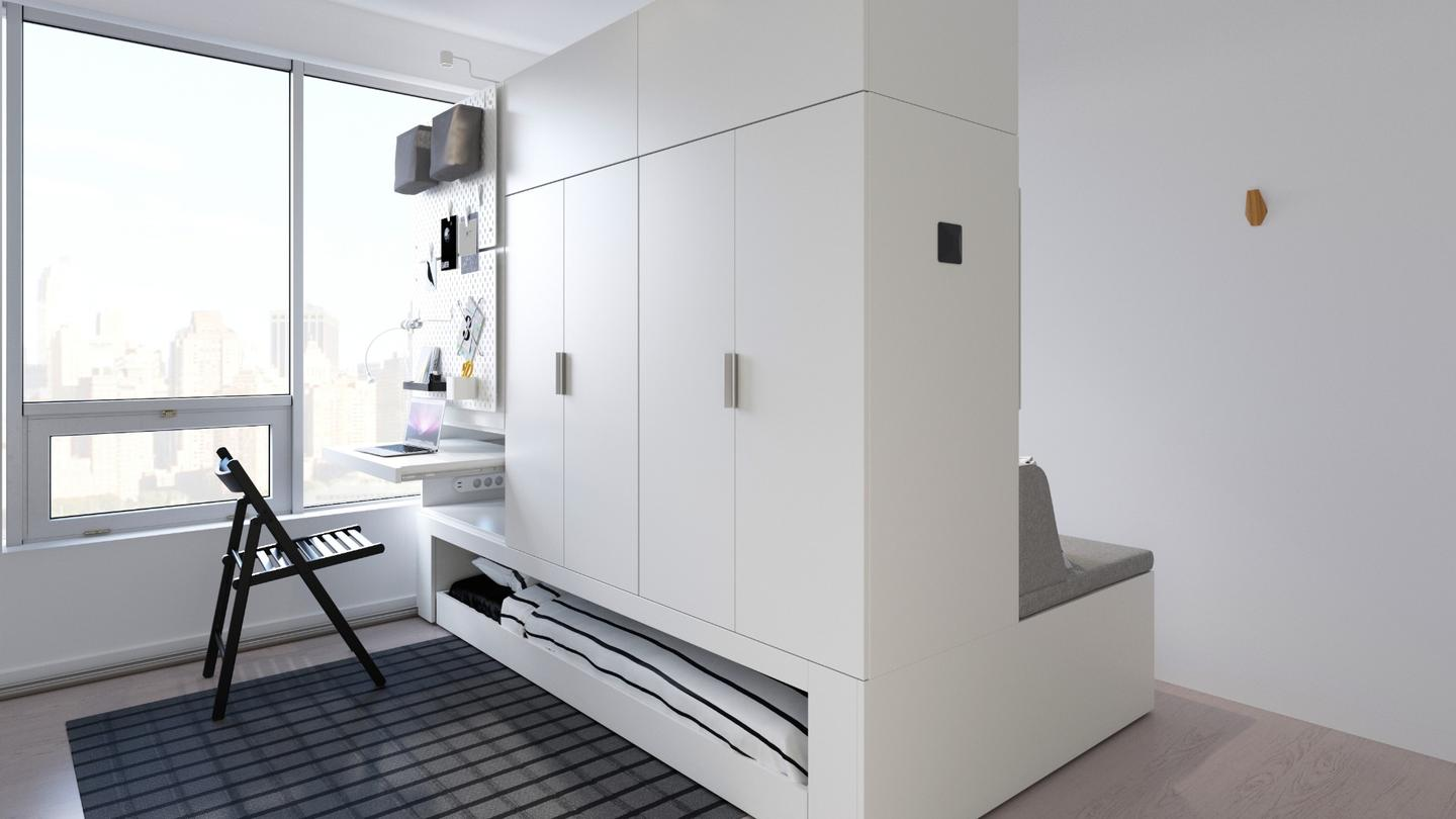 IKEA has revealed its innovative Rognan robotic furniture platform, designed to make small living easier