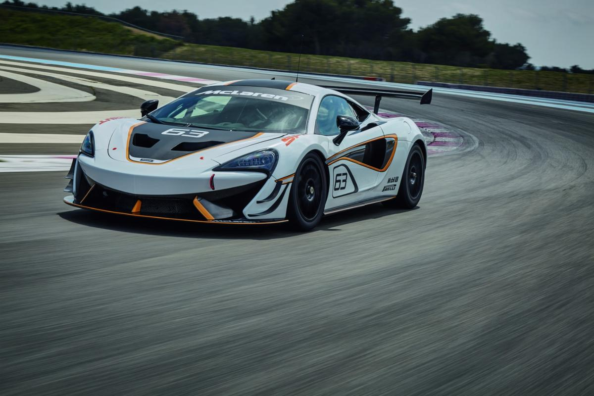 McLaren says that power and torque have been optimized in the 570S Sprint