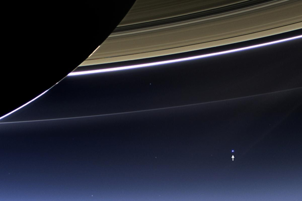 You are here (Image: NASA/JPL-Caltech/Space Science Institute)