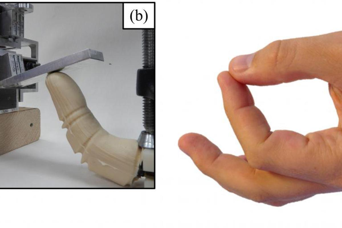 The team says the robotic finger could help to overcome some of the challenges encountered by researchers working in the ocean depths
