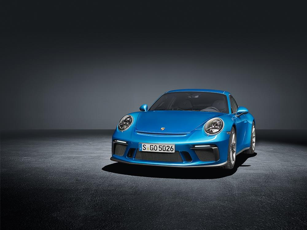 The nose of the GT3 withTouring Package is largely unchanged from standard
