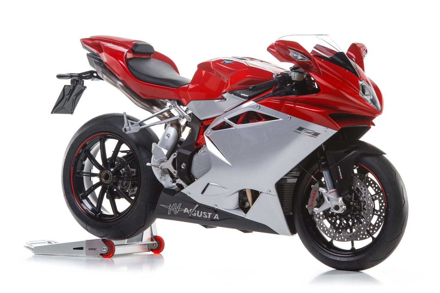 The basic version of the MV Agusta F4 superbike offered the base for the F4Z