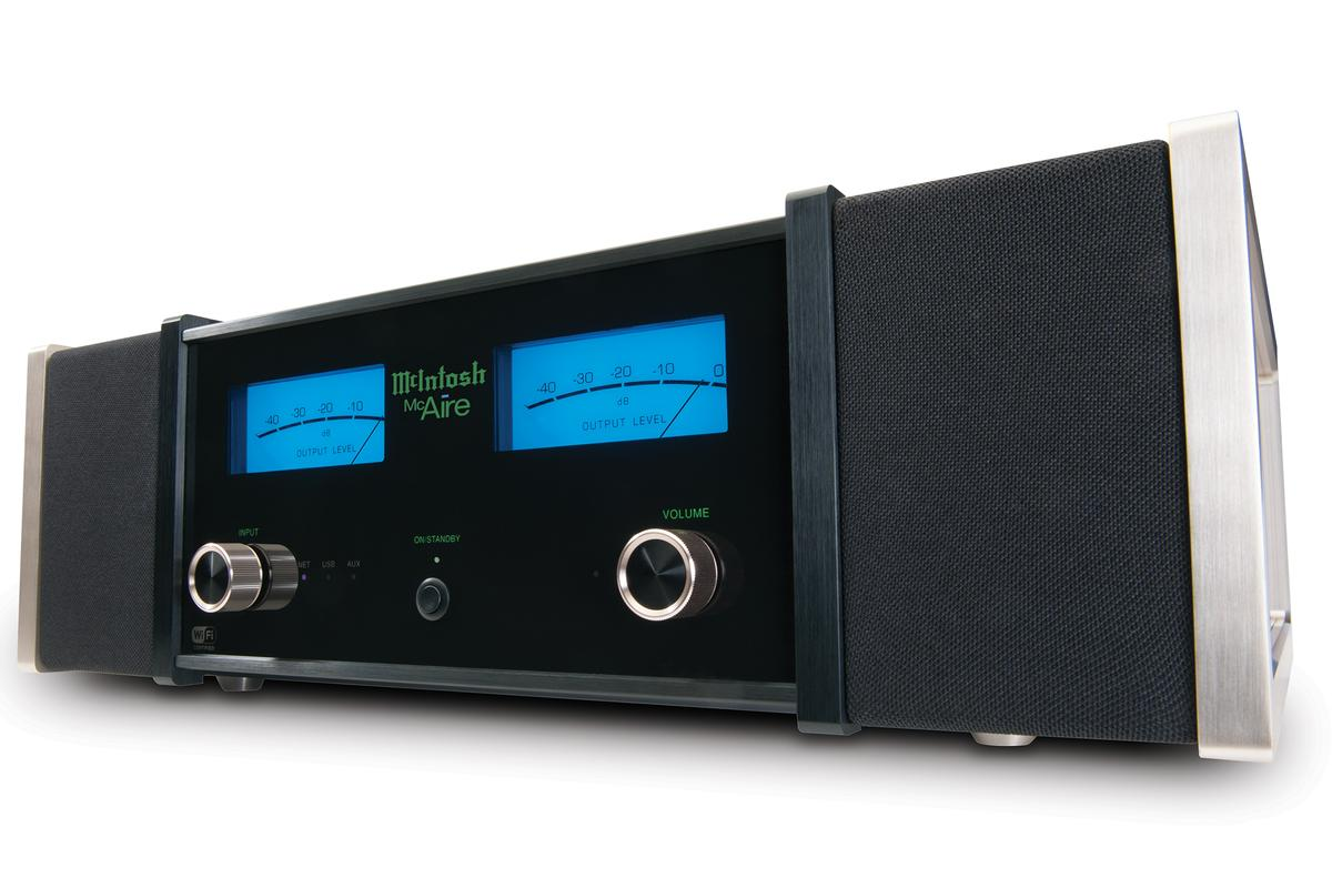 High-end audio specialist McIntosh has launched the McAire personal music system featuring Apple's AirPlay wireless technology