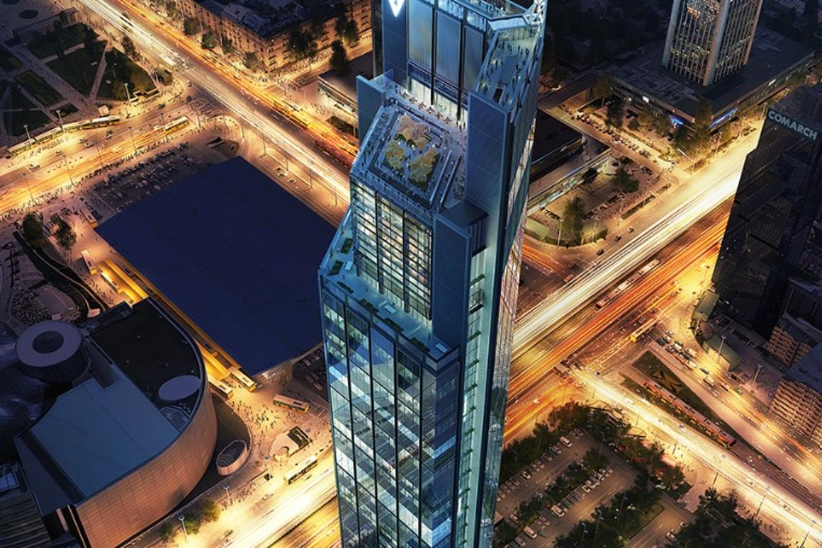 The Varso Tower will be Poland's first supertall skyscraper – that is, a skyscraper measuring at least 300 m (984 ft) tall