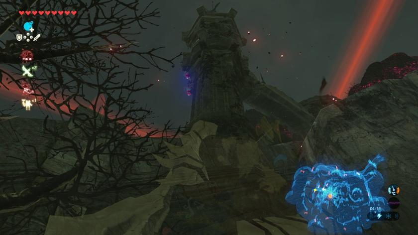 How to reach the Hyrule Castle memory easily in Breath of
