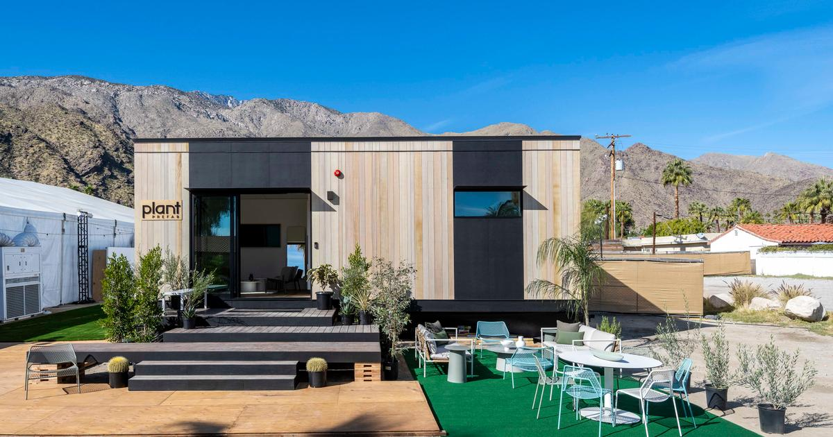 Plant Prefab reveals tiny home packed with smart technology