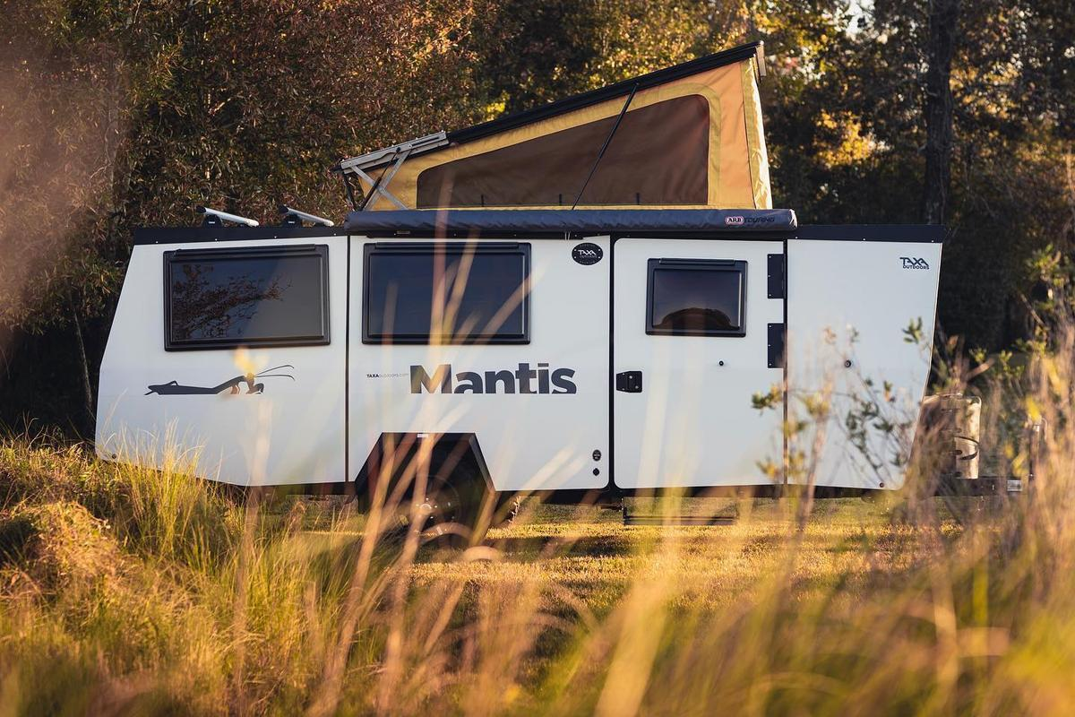 Taxa updates the Mantis, its four-sleeper flagship camping trailer