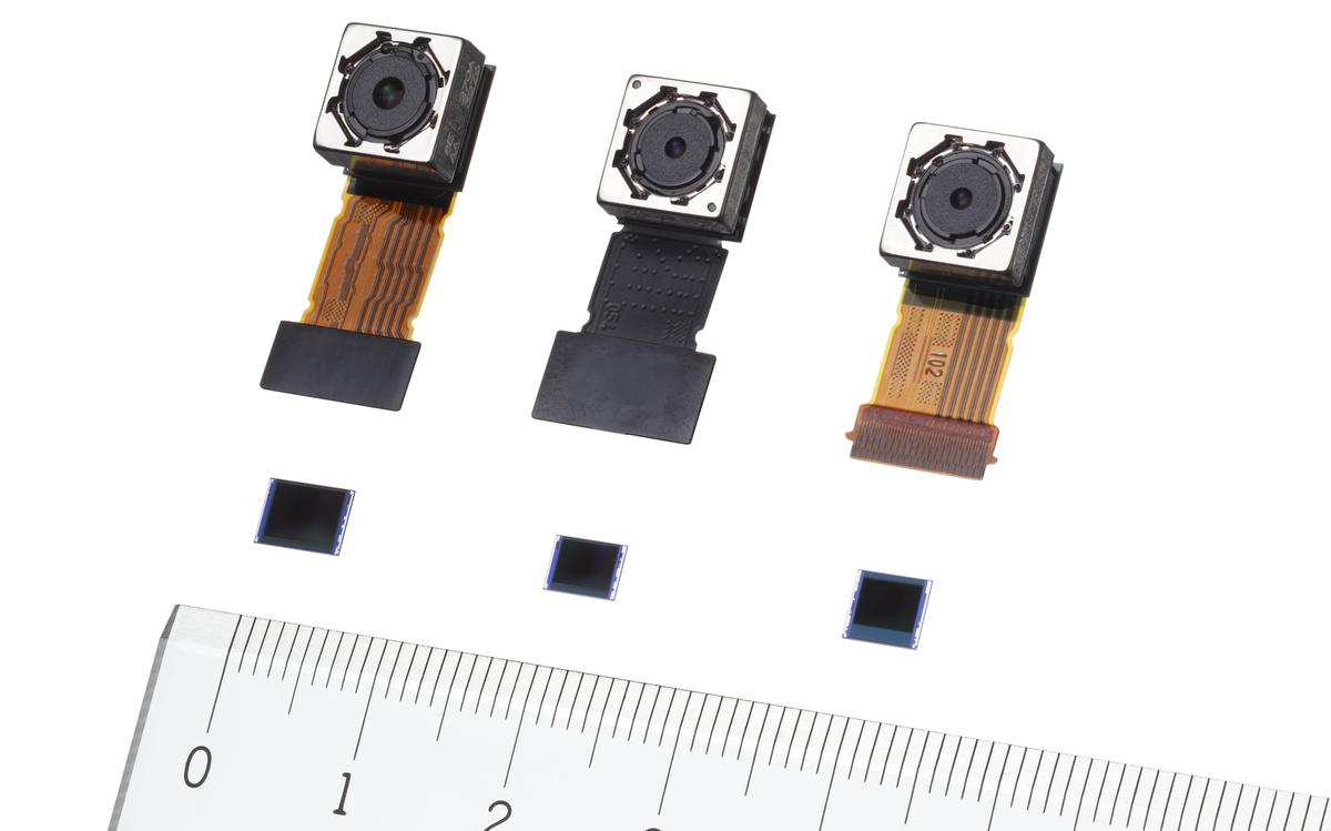 The Sony Exmor RS image sensors use a stacked structure, which means they are more compact and boast better image quality