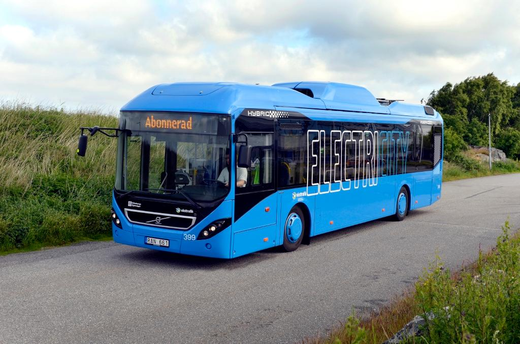 Volvo's electric bus will be on the roads of Gothenburg in 2015