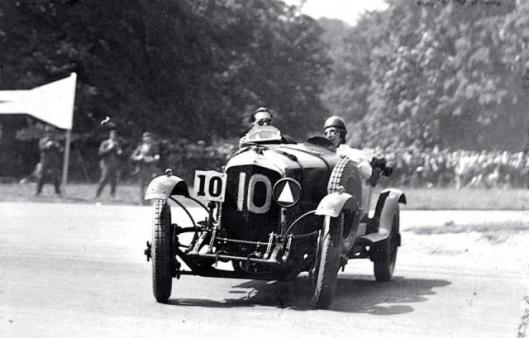 The ex-W.B. 'Bummer' Scott Team Car specification 1929 Bentley 4-litre Le Mans Sports Four Seater sold for GBP397,500.
