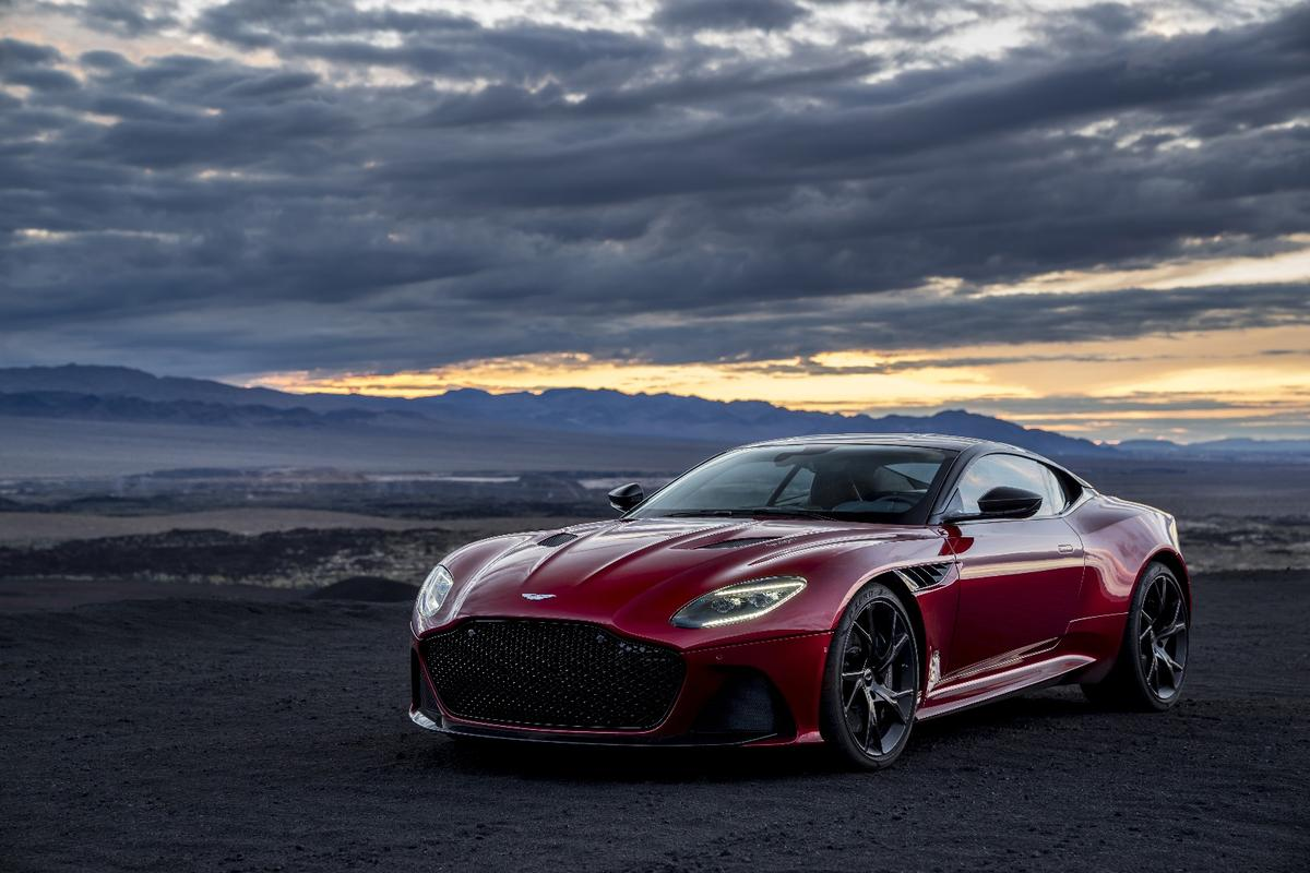 DBS Superleggera: moody at dusk, like a newborn