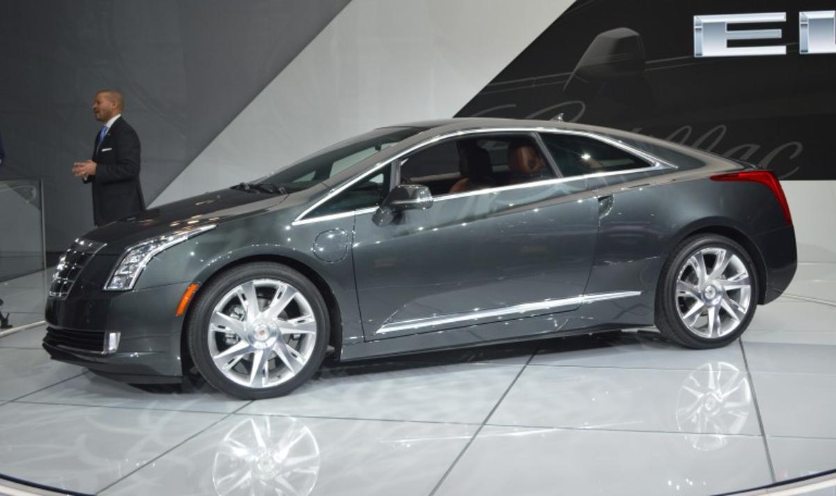 The ELR debuted at the 2013 North American International Auto Show