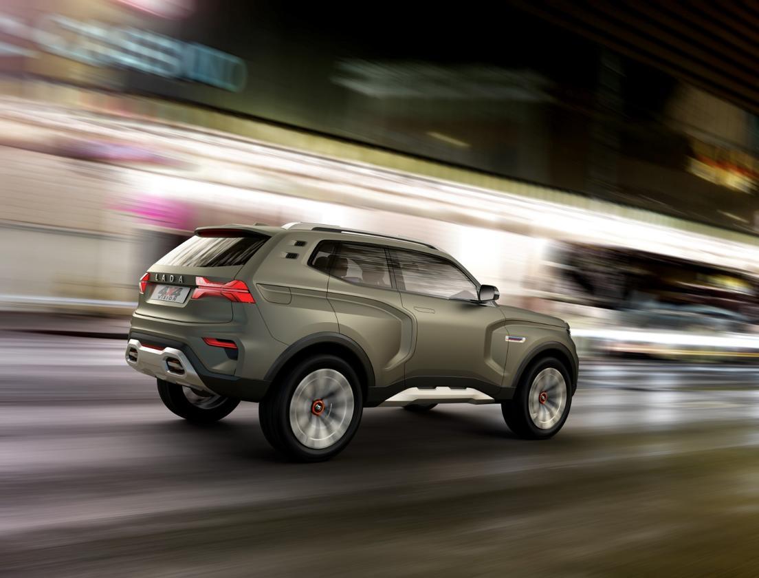 Lada 4x4 Vision: urban-capable 4WD concept