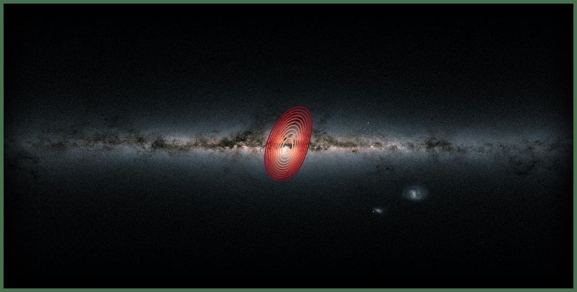 """کشف یک """"کهکشانی فسیلی"""" در قلب کهکشان راه شیری هراکلس  Heracles"""