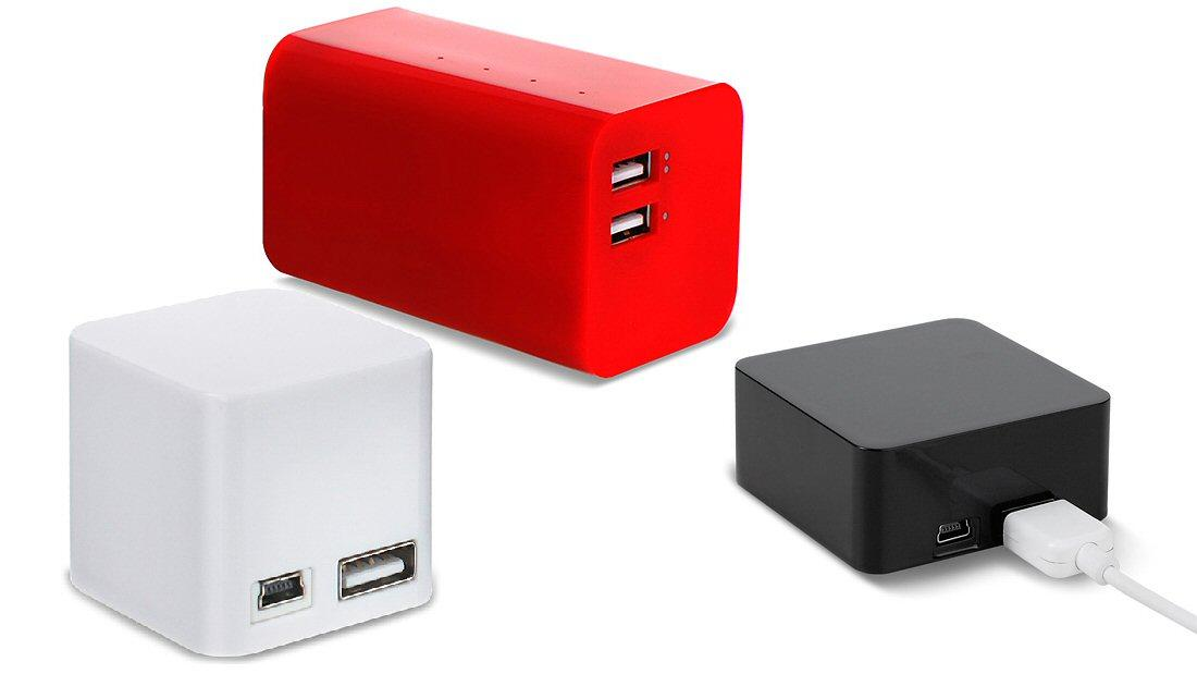 The BoostBloc Series features 2000 mAh, 4000 mAh and 6600 mAh units