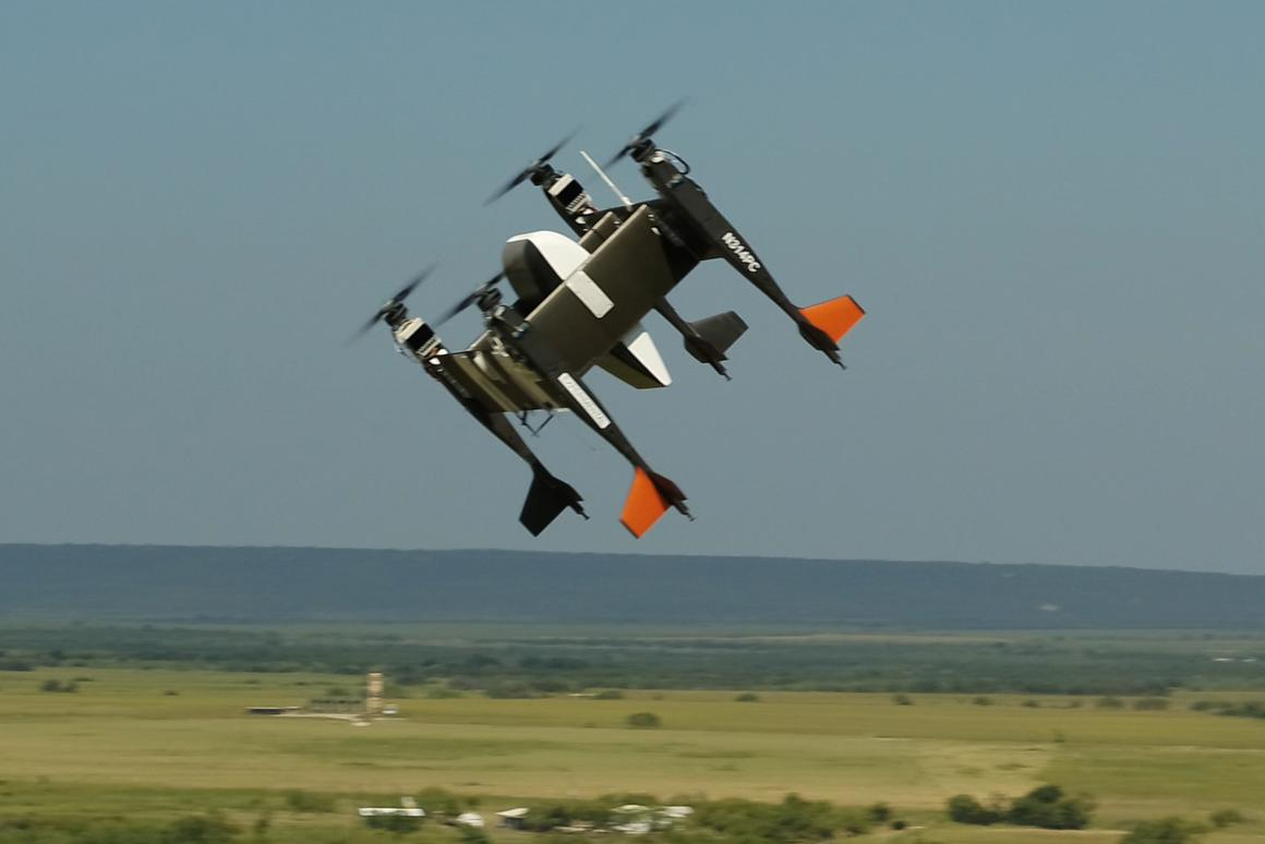 Bell Textron's APT 70 cargo drone has completed its first autonomous test flight