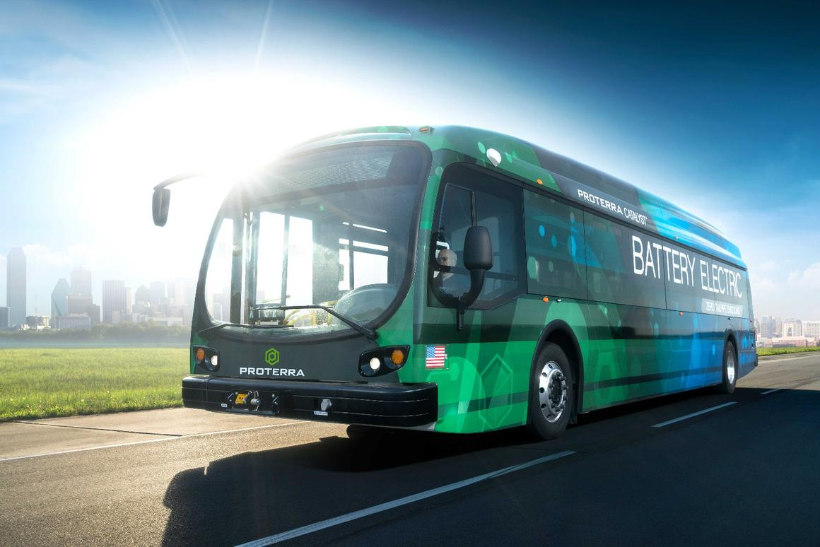 The Proterra Catalyst E2 bus managed 600 miles under testing conditions