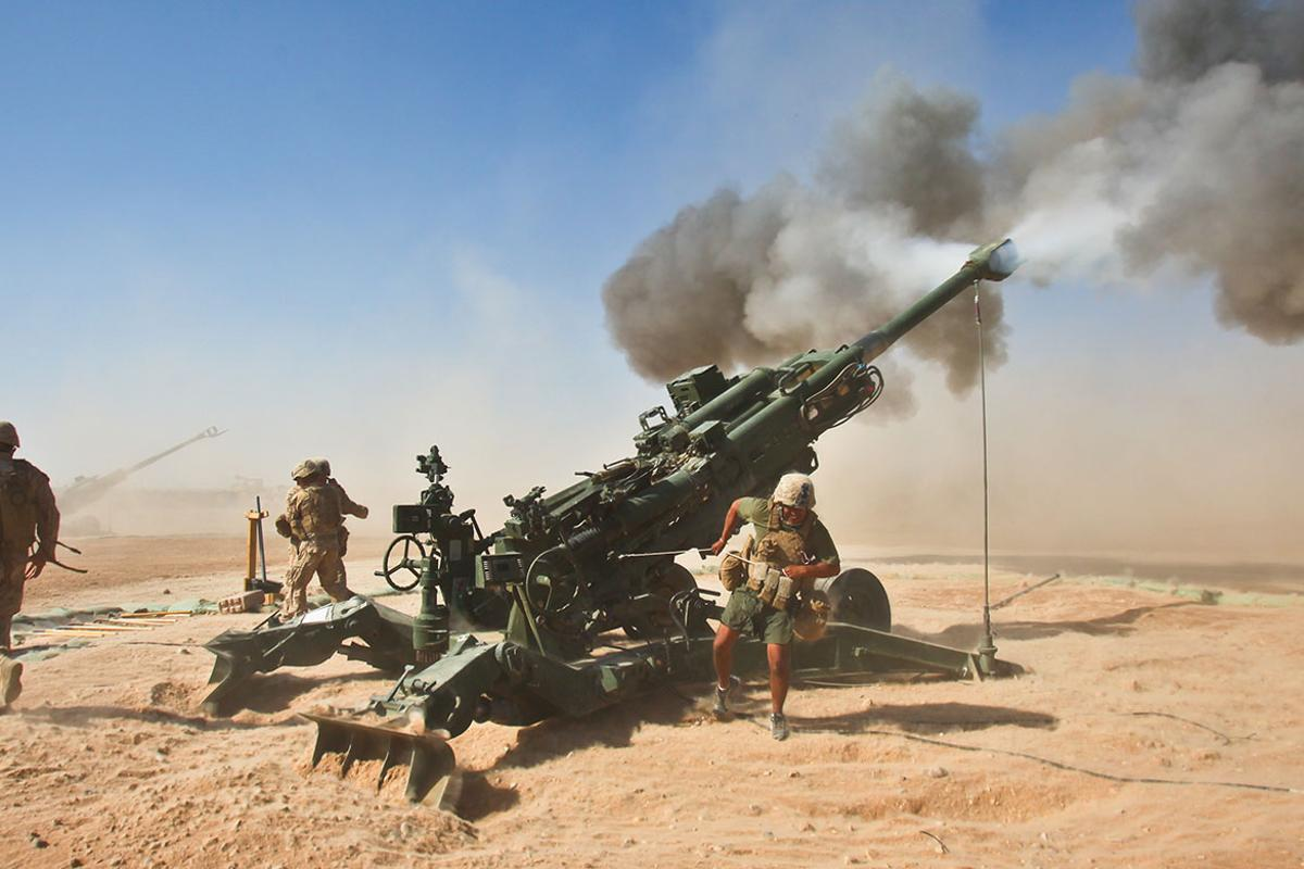 The XM1155 round is compatible with all 155 mm artillery