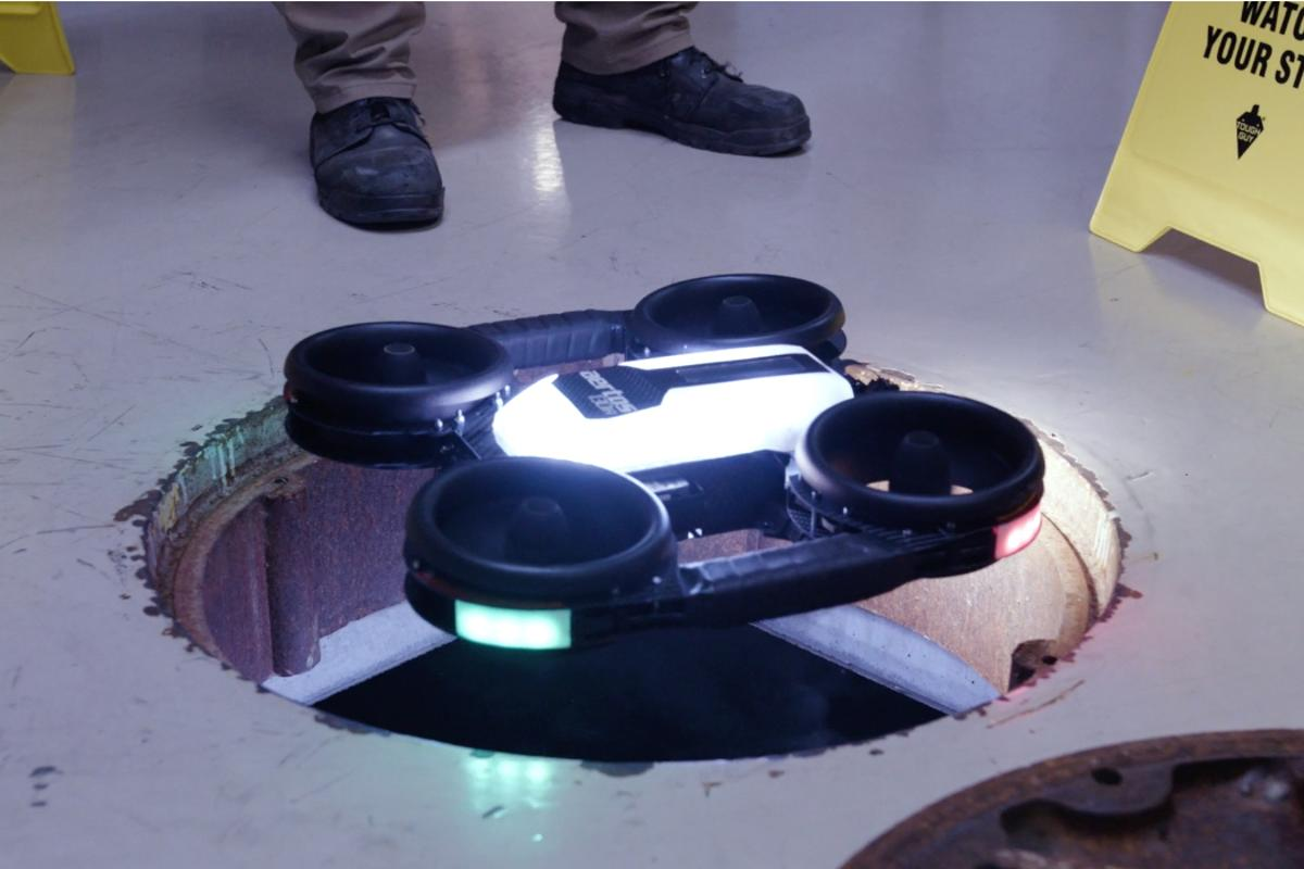 Aertos drone is made to take a beating