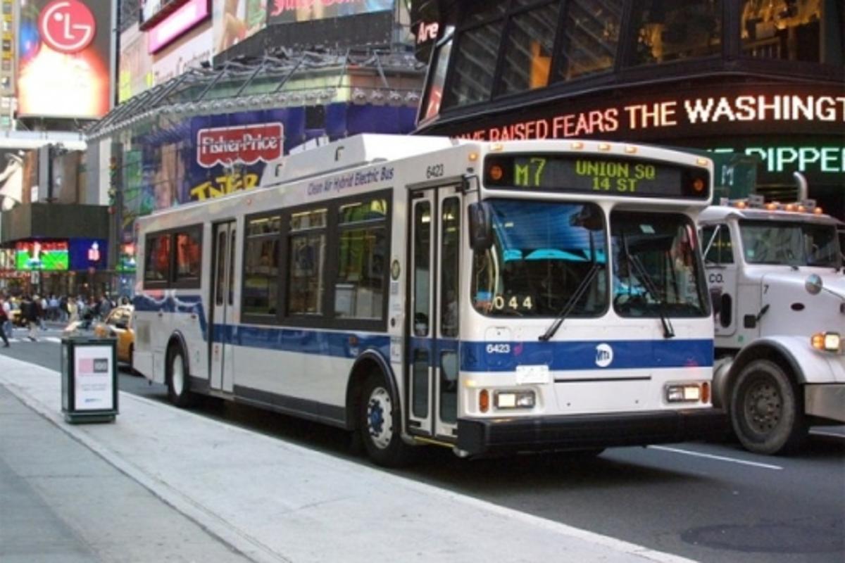 Orion VII hybrid-drive transit buses