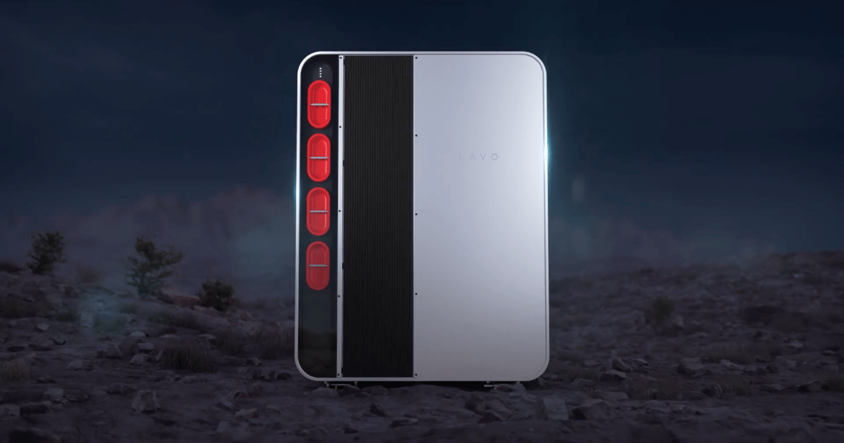 World-first home hydrogen battery stores 3x the energy of a Powerwall 2