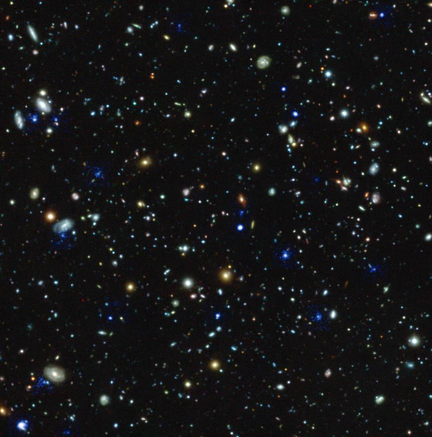 hubble ultra deep field youtube - 866×876