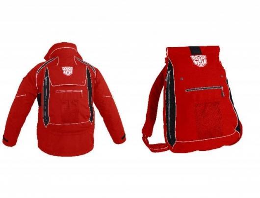 3-in-1 Xip3 transformable jacket