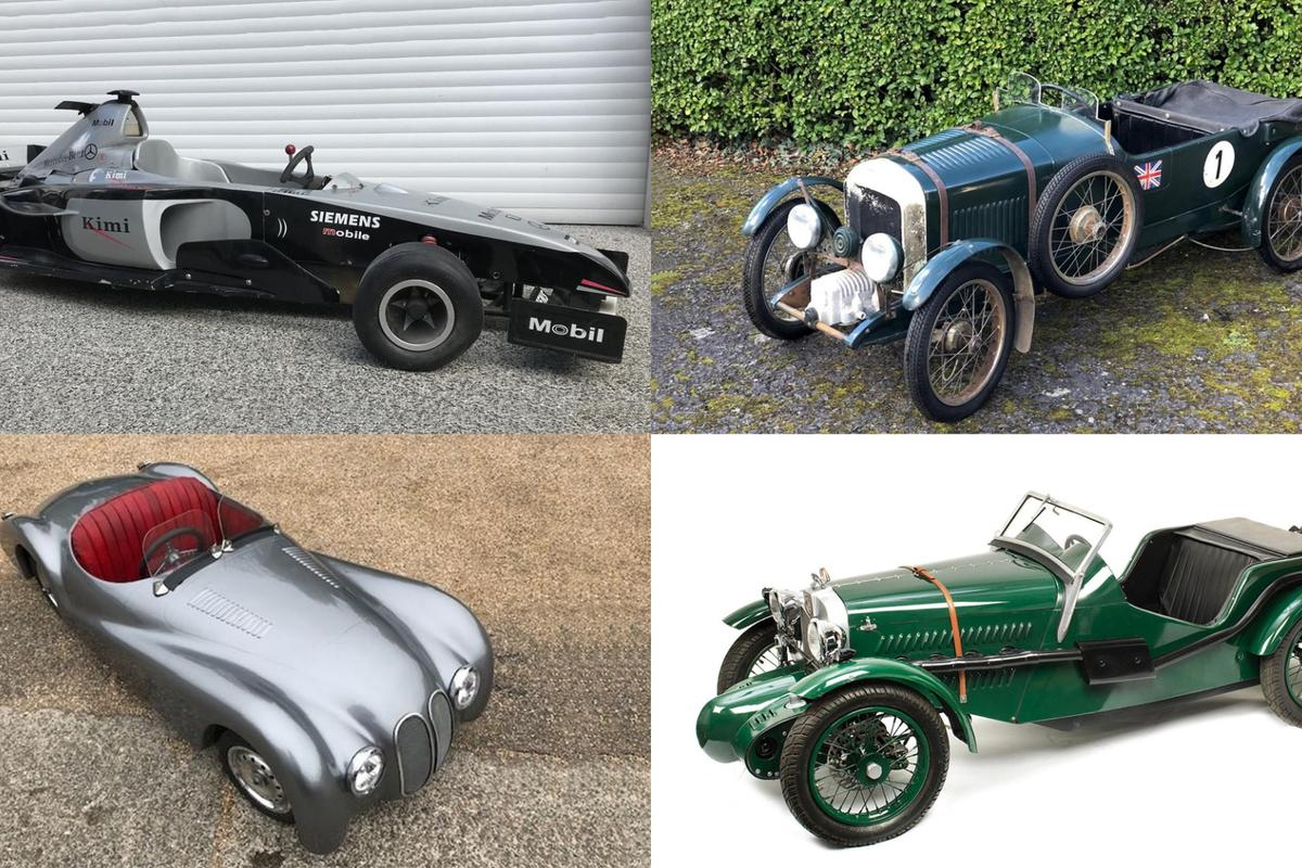 """Beautiful replica cars are regularly available at auction and make an ideal gift for your """"works replica"""""""