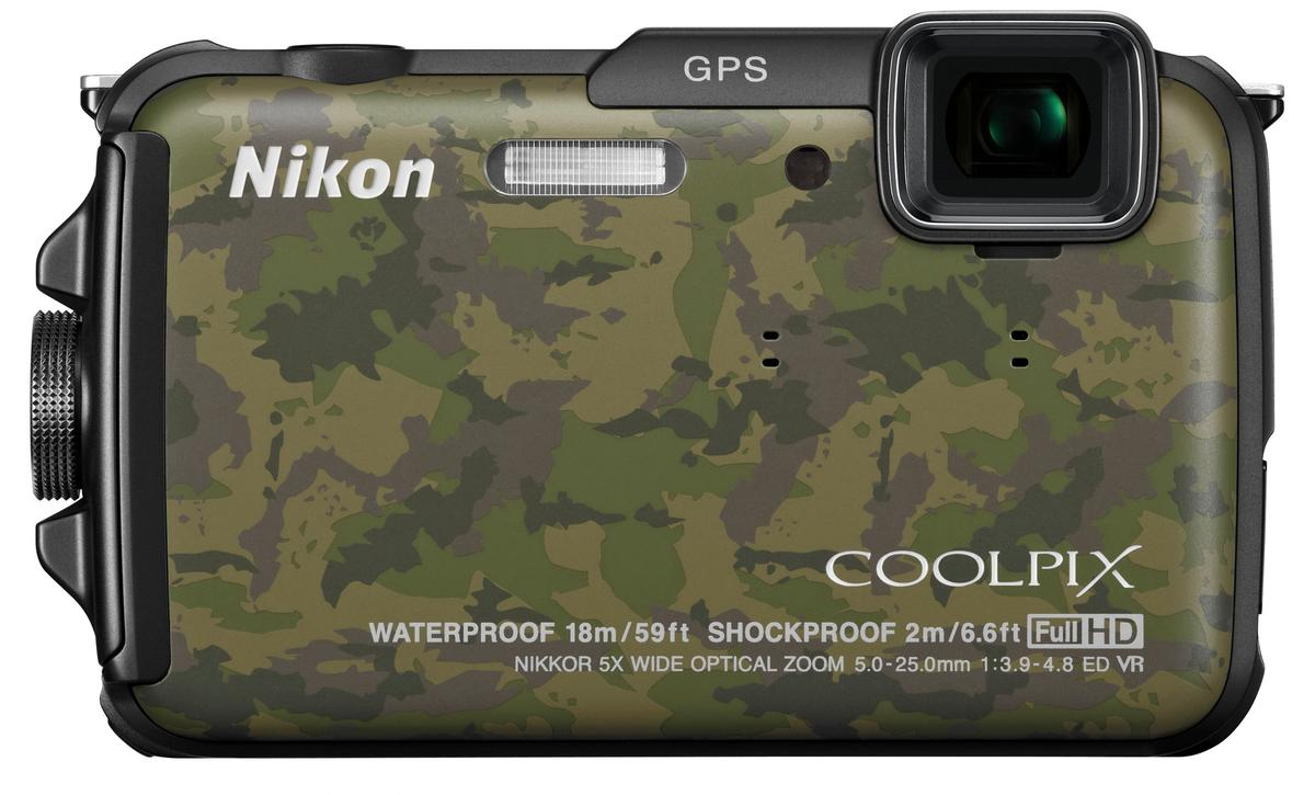 The Nikon COOLPIX AW110 is shockproof up to 2 meters (6.6 ft)
