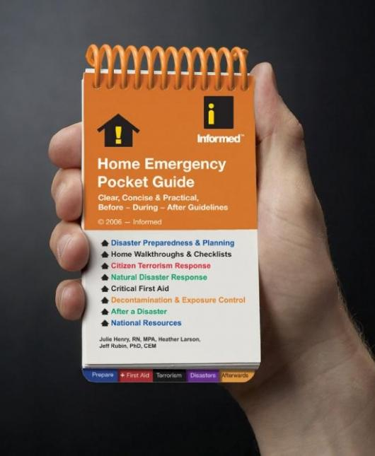 Informed's Home Emergency Pocket Guide