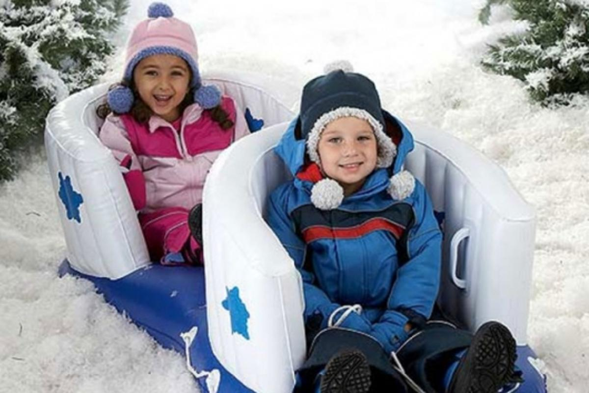 Cozy Cruiser Double Baby Sled