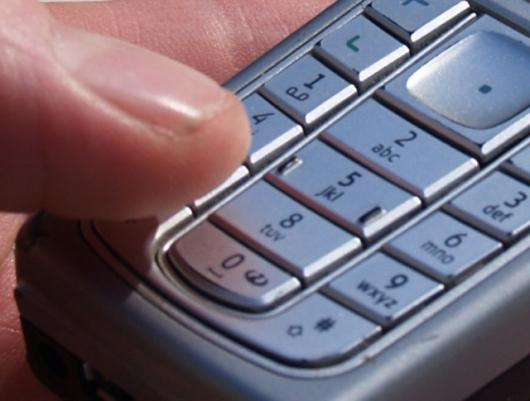Voice texting by-passes mobile keypads