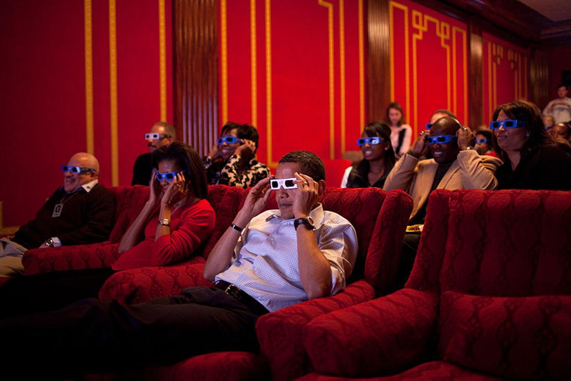 Watch out, Barack and Michelle - recent studies have concluded that viewing 3D content causes eye strain