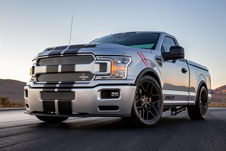 The Shelby F150 Super Snake Sport is a street-only supertruck