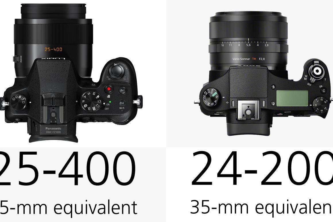 Panasonic Lumix FZ1000 vs  Sony Cyber-shot RX10