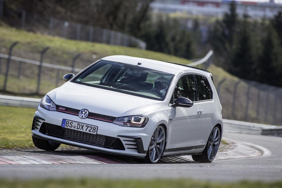 VW has stolen the Nordschleife front-drive production lap record from Honda