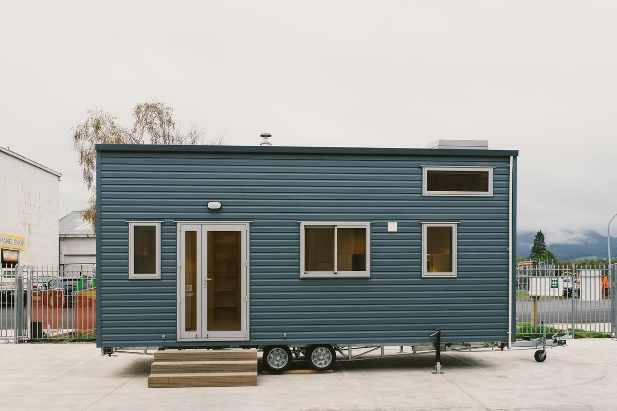 Sonnenschein Tiny House maximizes storage space